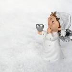 images gratuites : neige, hiver, petit ange, noel,