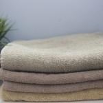 serviettes draps de bain