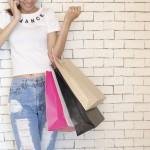 femme sacs shopping images gratuites