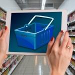 faire ses courses en ligne – supermarché