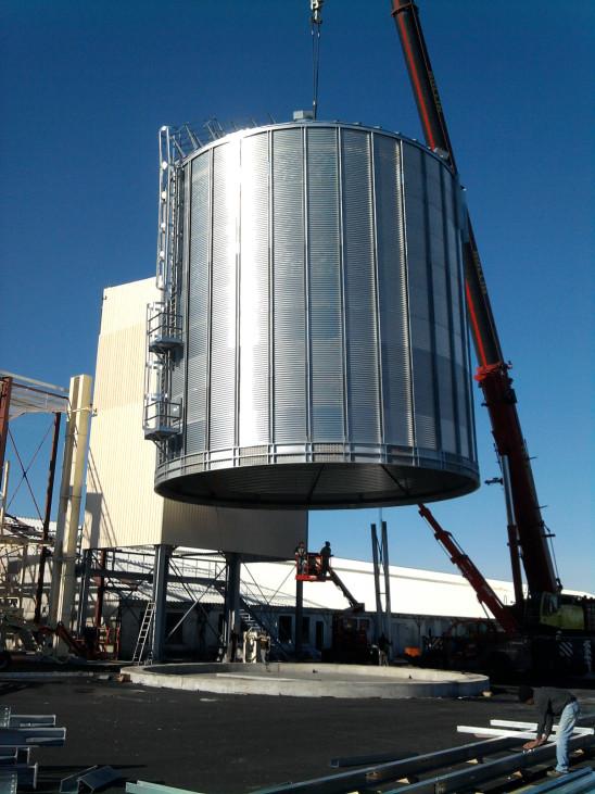 séchoir fixe, séchoir agricole, silo, silos, silo à grains, silos céréales