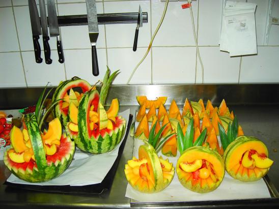 melons et pastèques