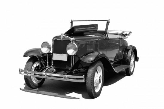 ancienne voiture de collection vintage cabriolet