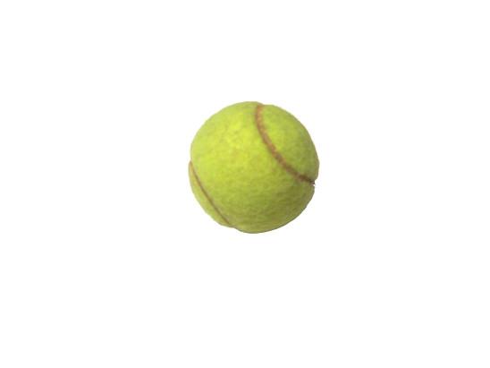 balle de tennis isolé sur fond blanc