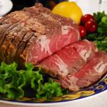 boeuf gigot viande tranche