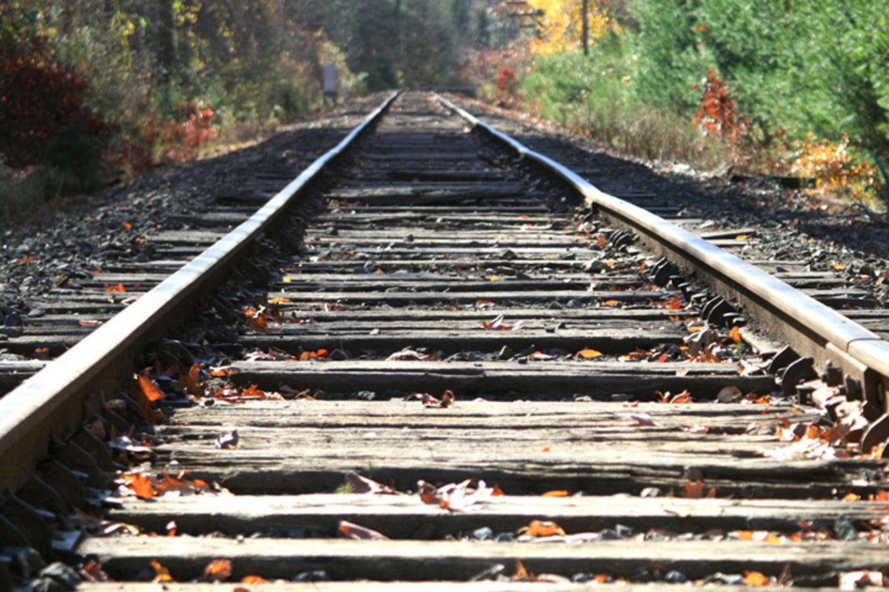 chemin de fer voie férrée