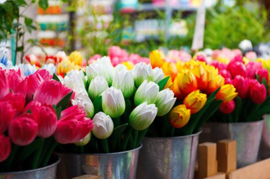 fleur fleuriste tulipes artificiel