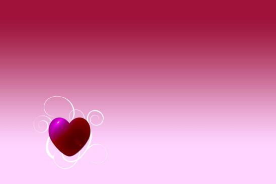 illustration background coeur saint-valentin