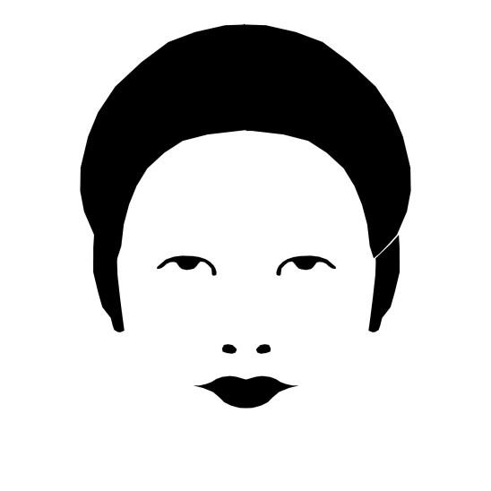 illustration femme portrait visage vecteur chinoise japonaise asiatique