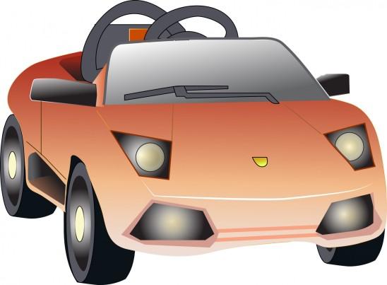 illustration vecteur jouet automobile