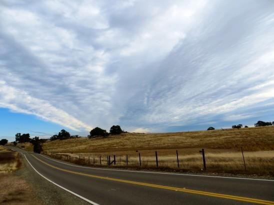 paysage chemin route déserte