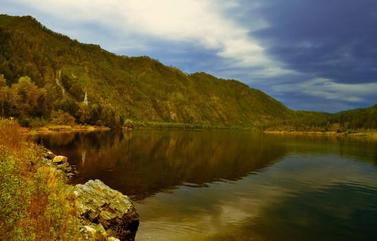 paysage coucher de soleil lac eau étang rivière