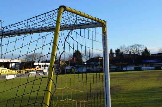 terrain de football cage goal