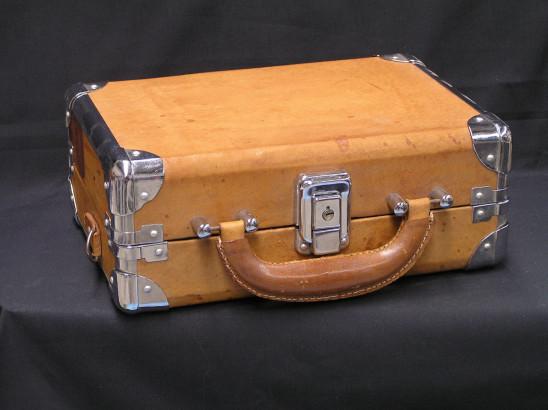 ancienne valise cartable