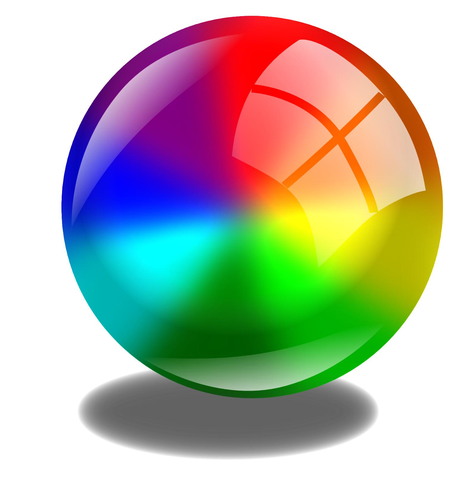X Circle Icon illustration 3d boule ...