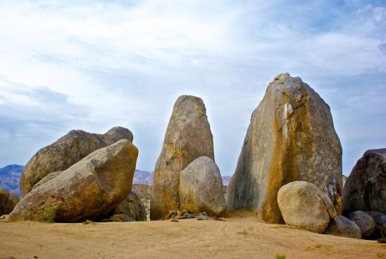 désert et roches