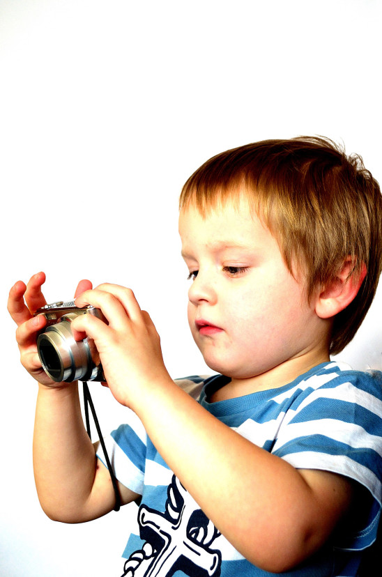 enfant appareil photo