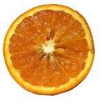 moitié d' une orange