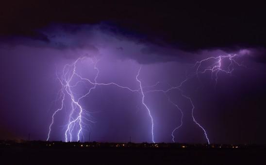orage éclair foudre