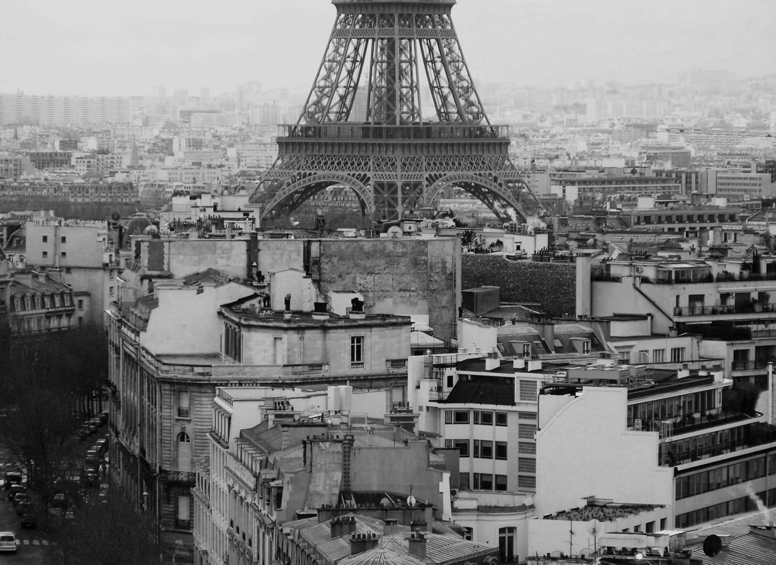Paysage paris ville tour eiffel capitale france images for Paris paysage