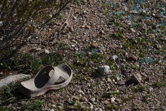 perdre sa sandale