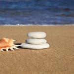 zen coquillage galet océan mer