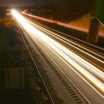 abstrait route trafic bokeh lumièrer circulation images photos gratuites