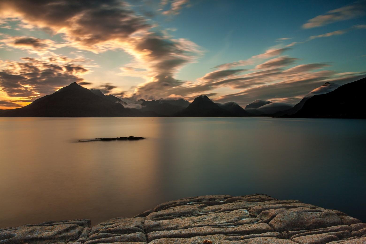Fond d cran zen hd pierre galet lac eau coucher de for Photo ecran zen