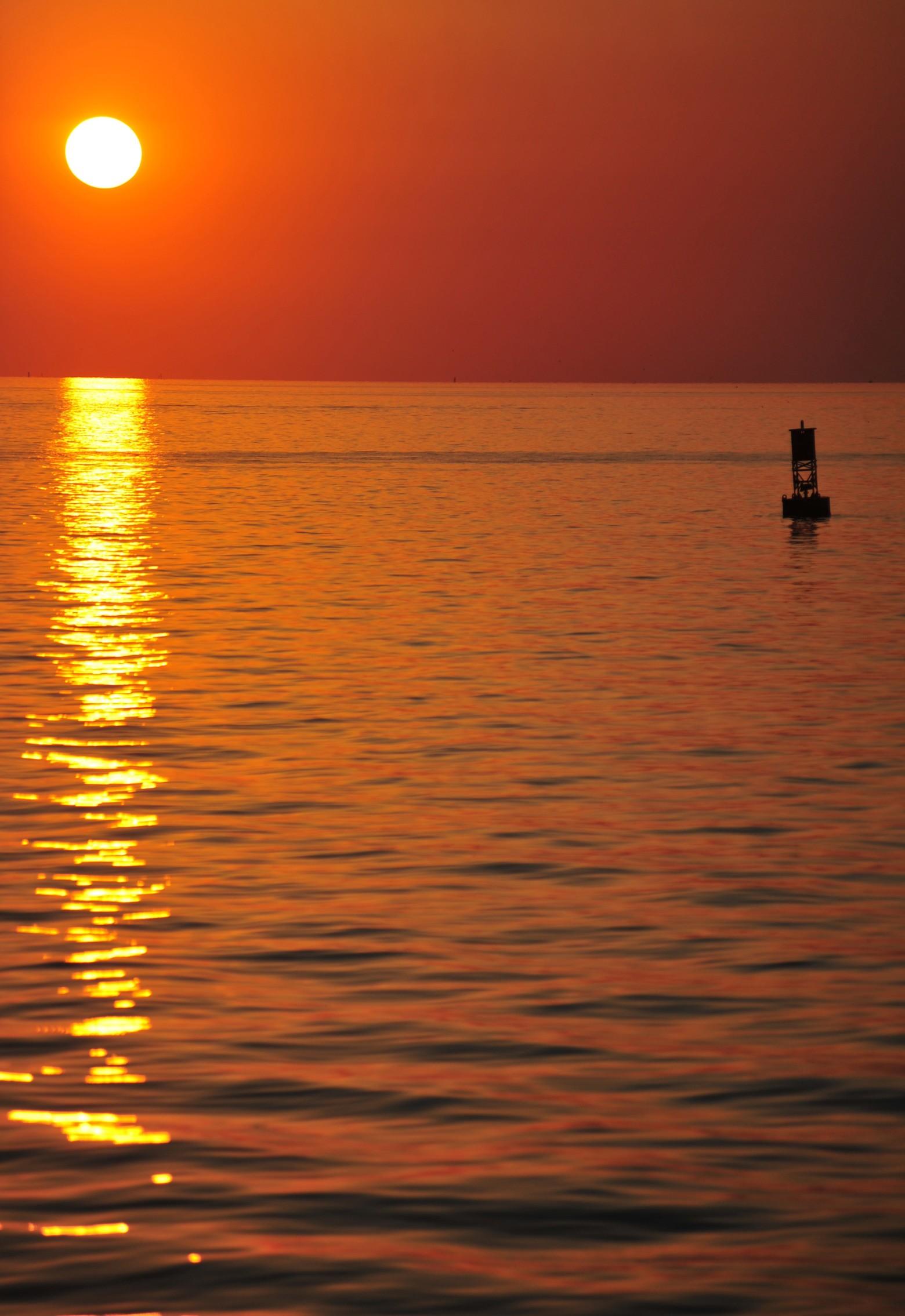 Coucher de soleil sunset oc an mer plage images photos - Photos de coucher de soleil sur la mer ...