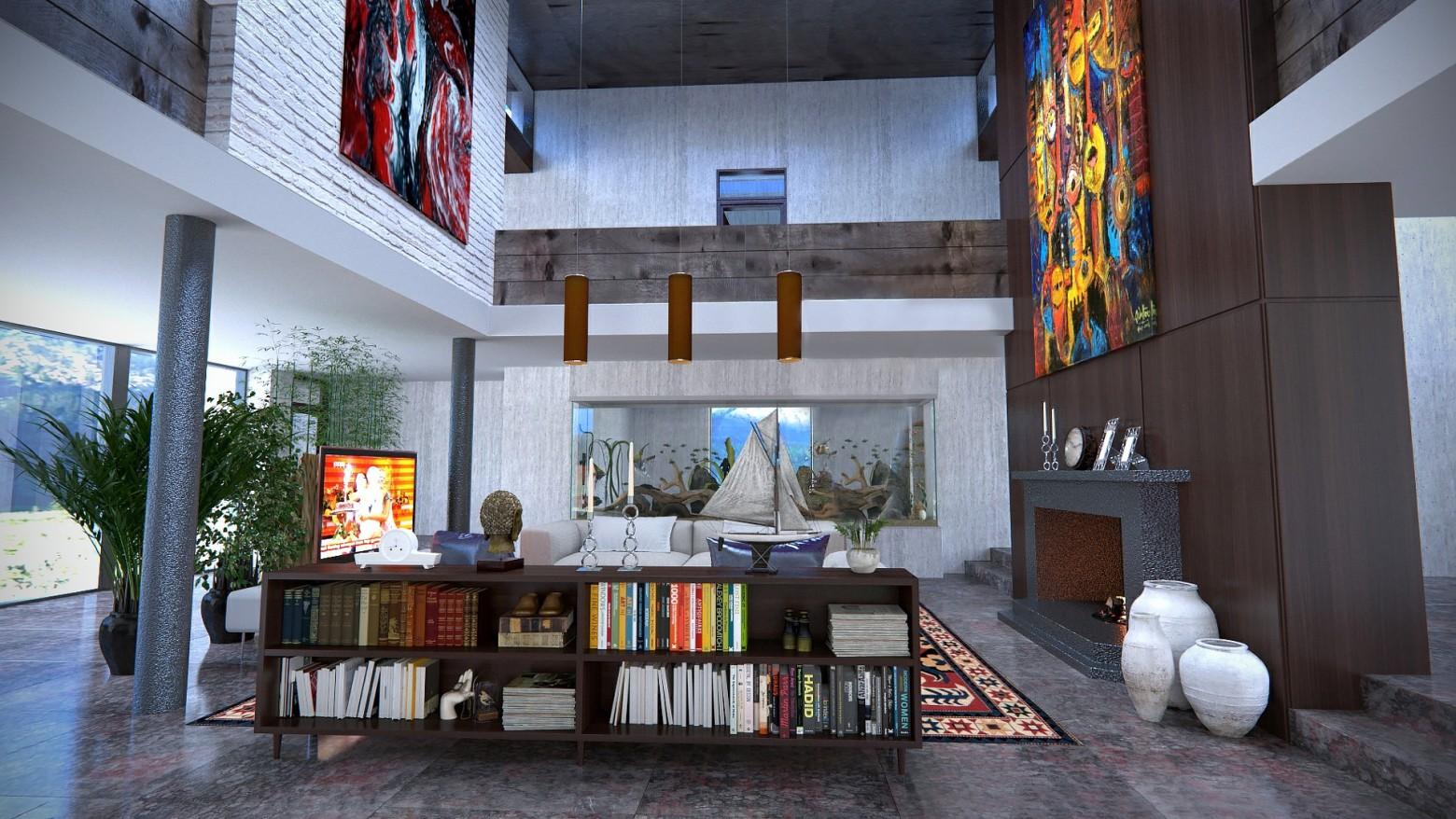intérieur maison appartement loft moderne design | images gratuites ...