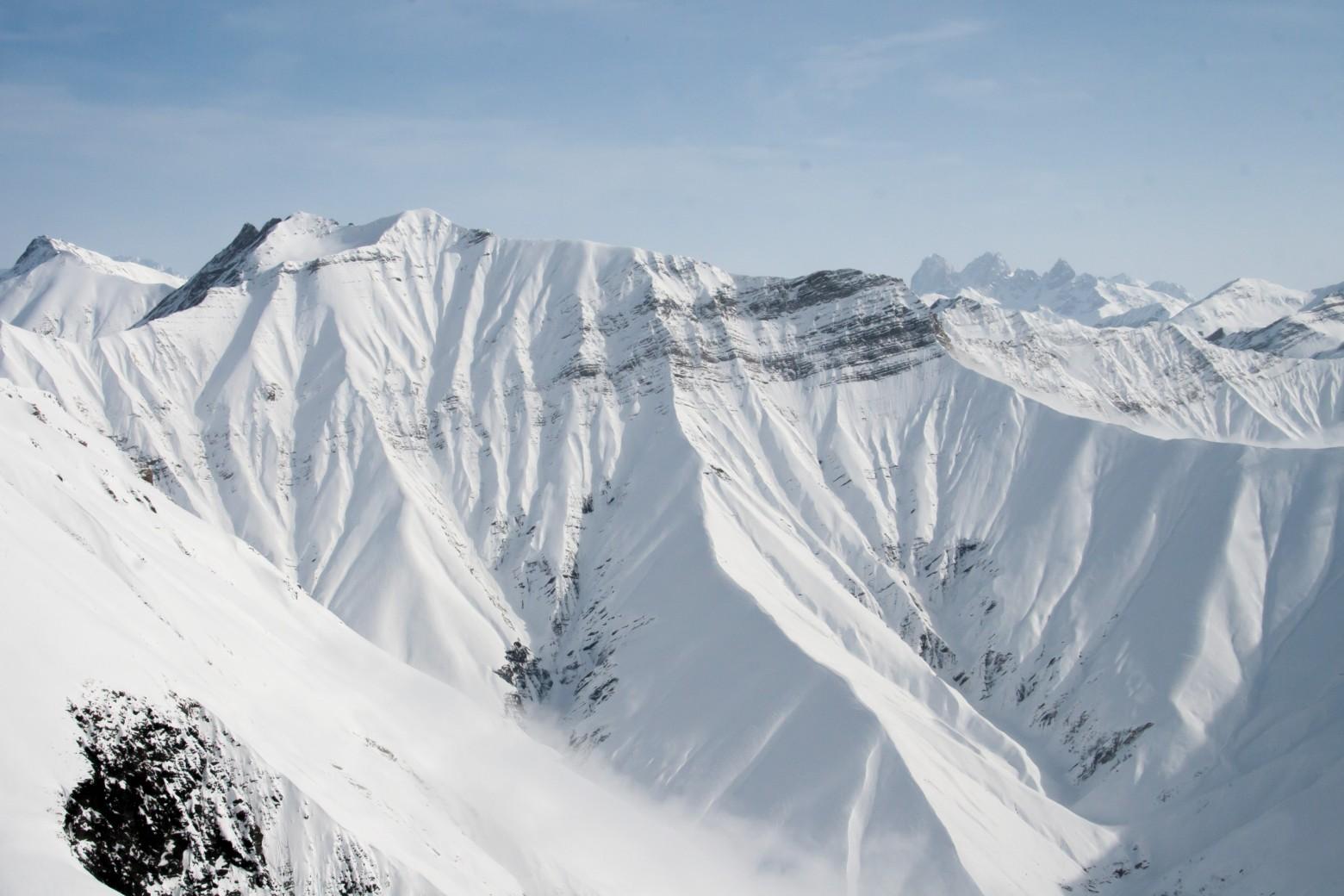 Les montagnes l hiver la neige images photos gratuites - Photos de neige gratuites ...