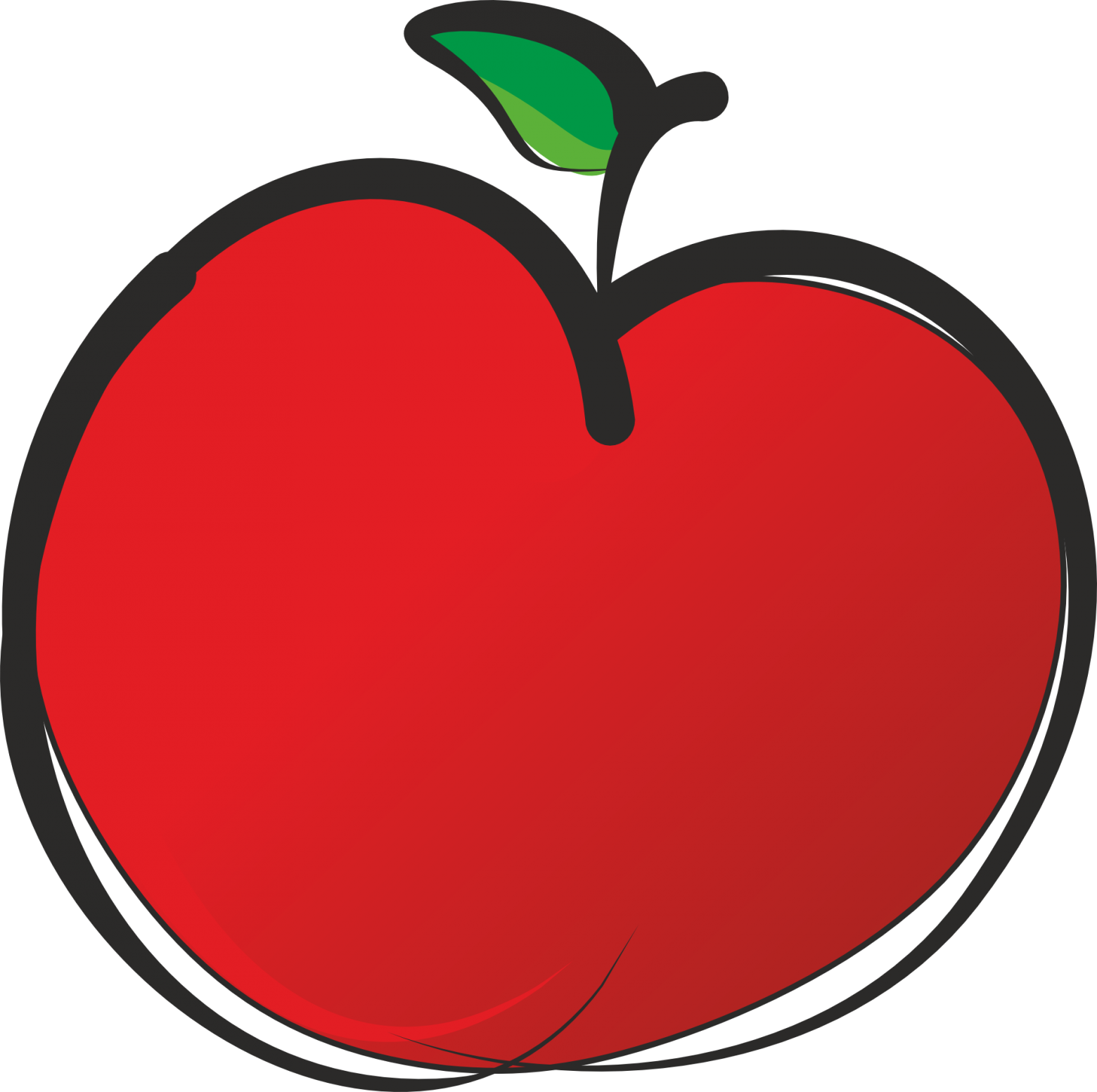 clipart picture of apple - photo #25