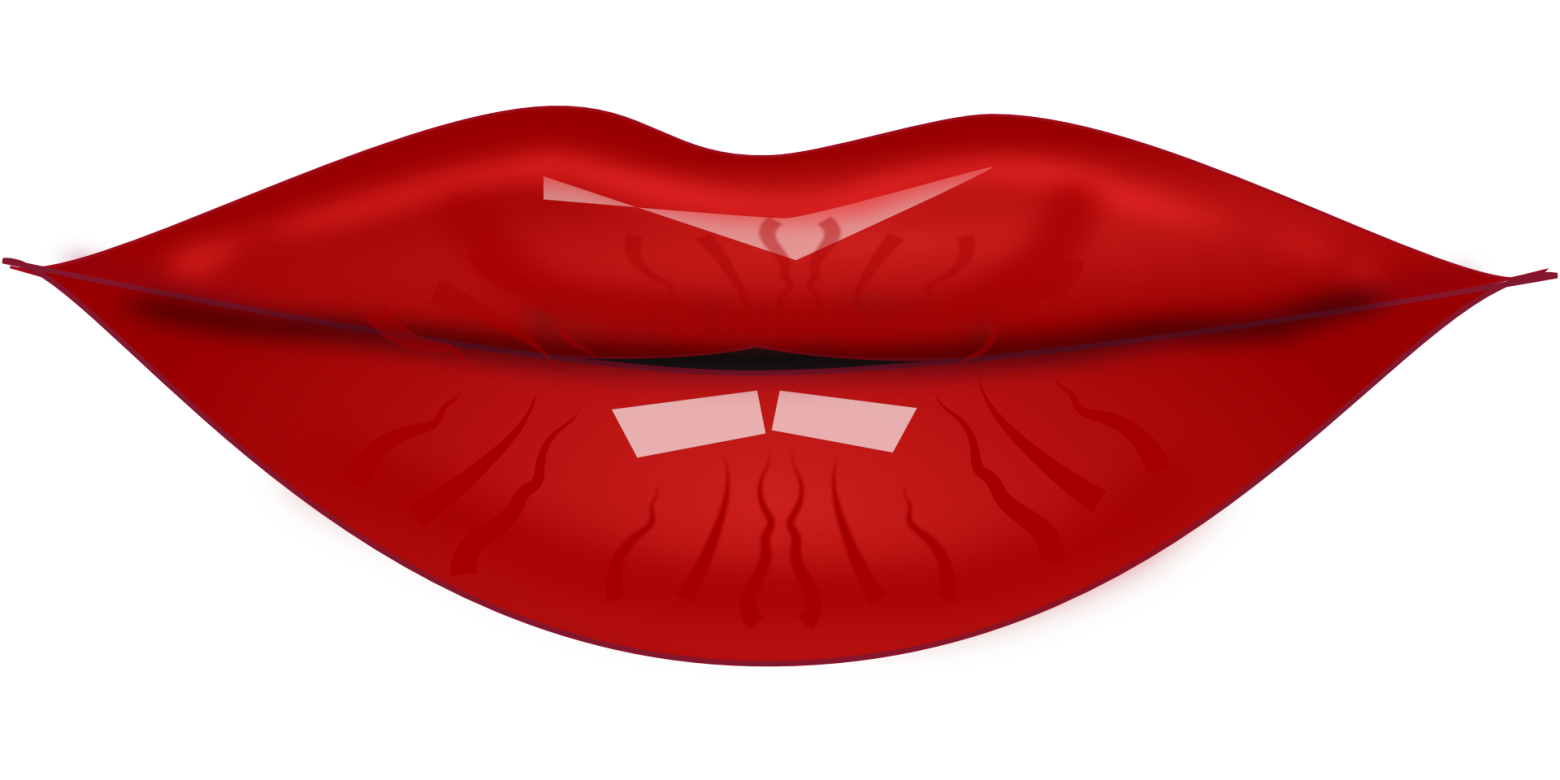on cartoon lips clipart