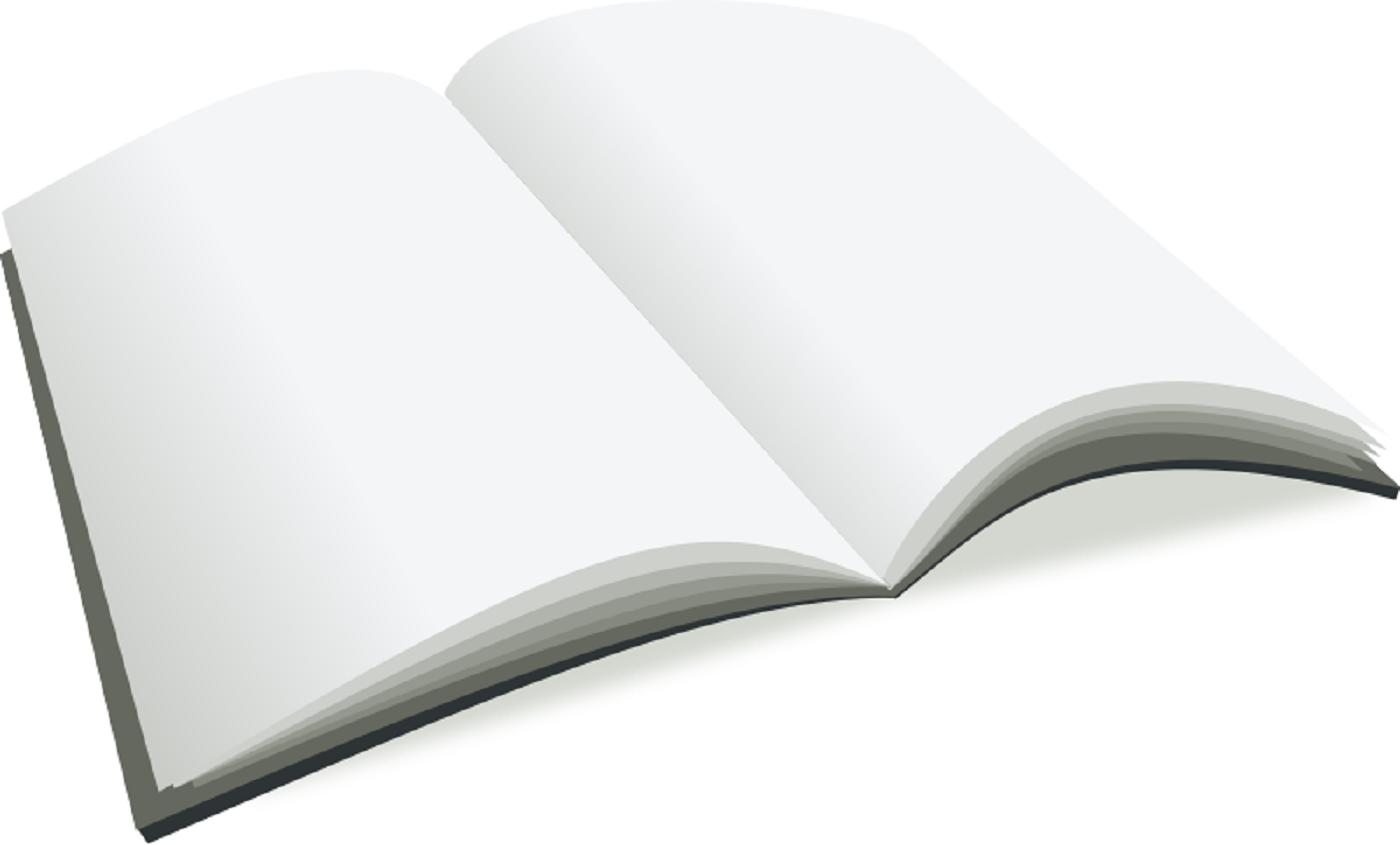 Connu clipart images gratuites: livre ouvert page blanche | images  MU25
