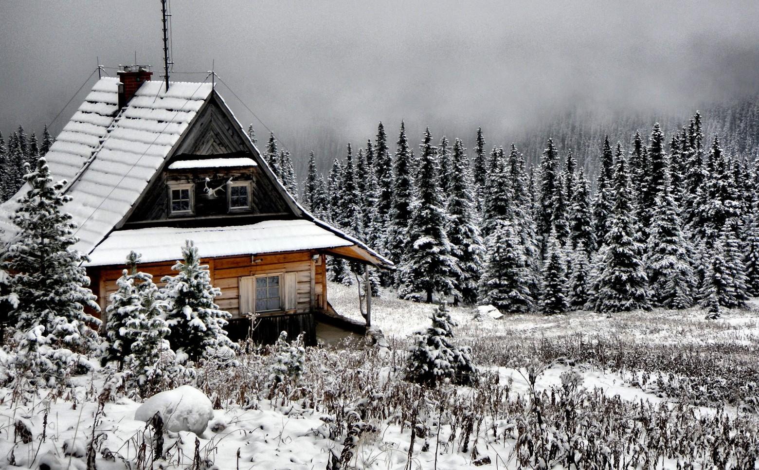 Cabane chalet hiver montagne neige images gratuites et - Photos de neige gratuites ...