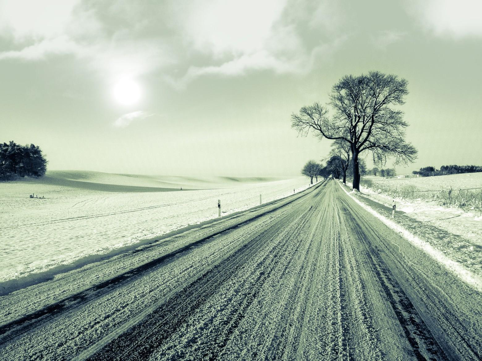 Route neige campagne enneig e hiver photos gratuites - Photos de neige gratuites ...