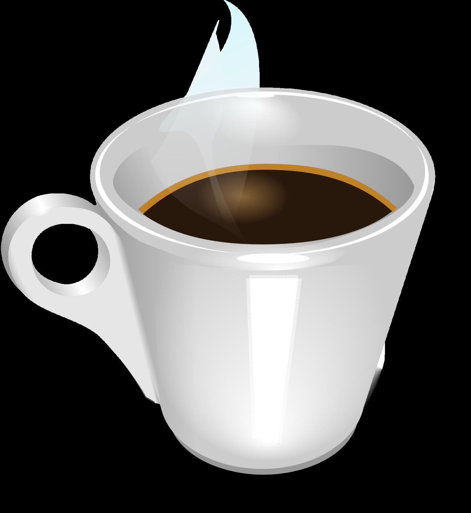 Tasse clipart  clipart tasse de café noir images gratuites | images gratuites et ...