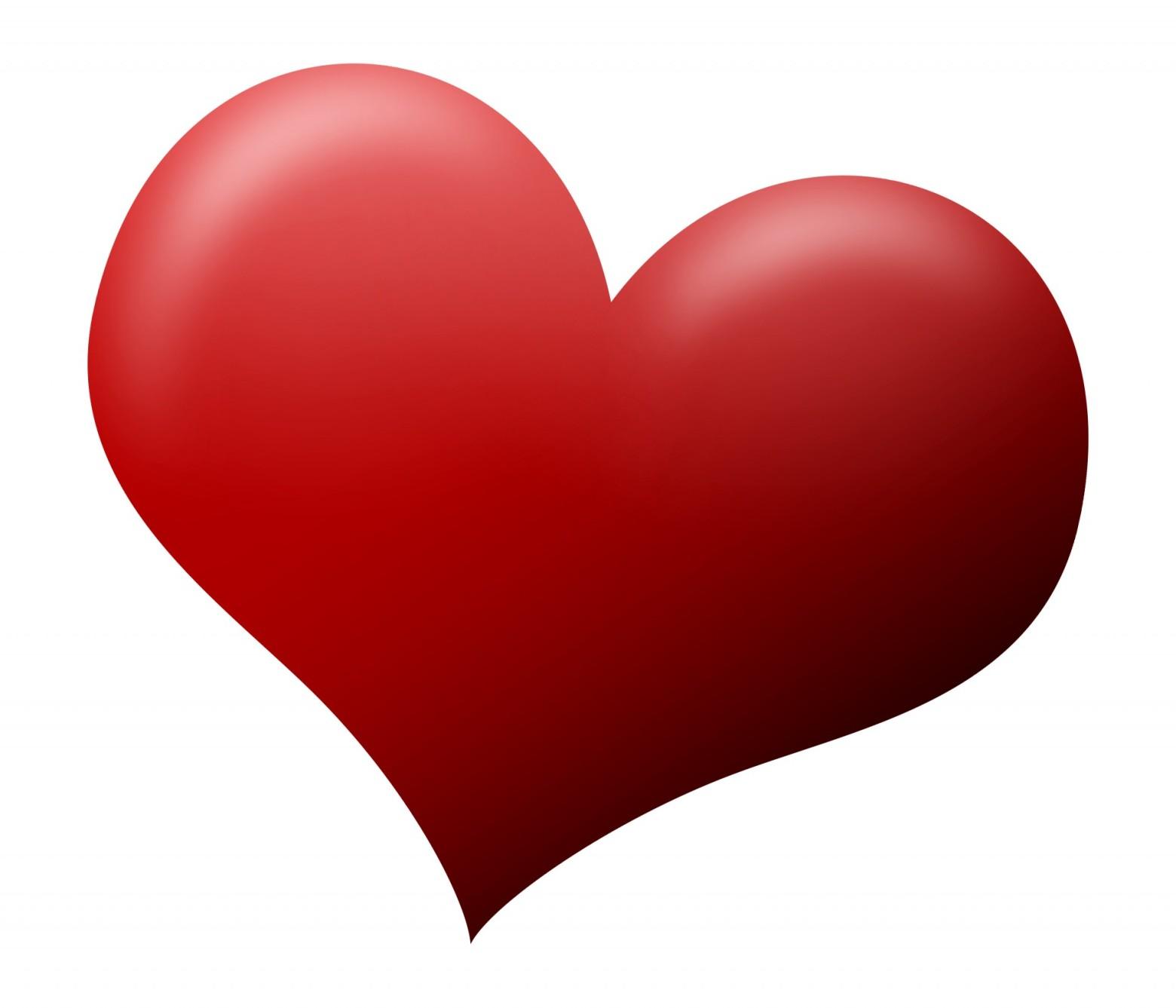 3d coeur sur un fond blanc images gratuites et libres de - Images coeur gratuites ...