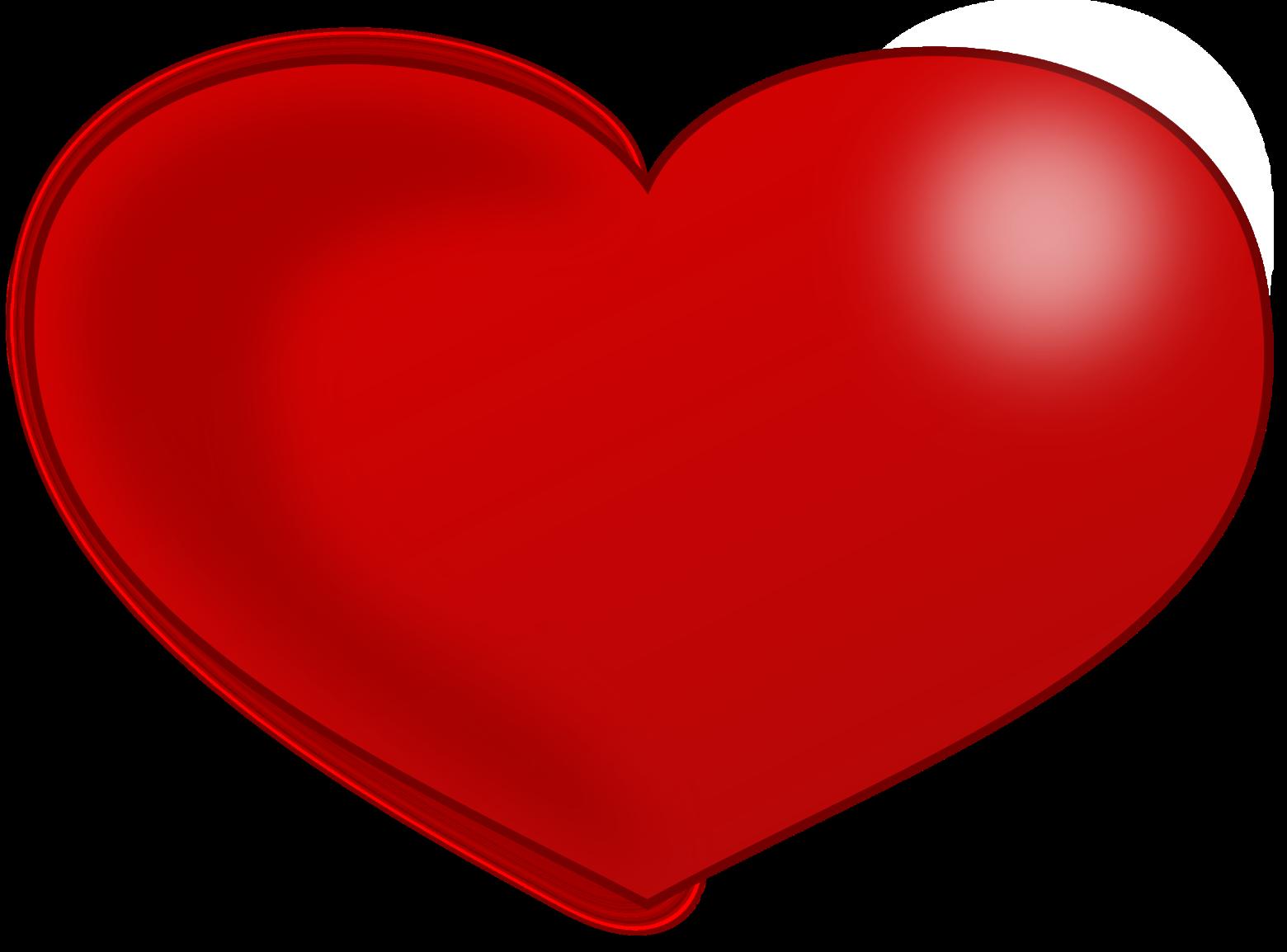 Coeur rouge sur un fond blanc images gratuites et libres - Images coeur gratuites ...