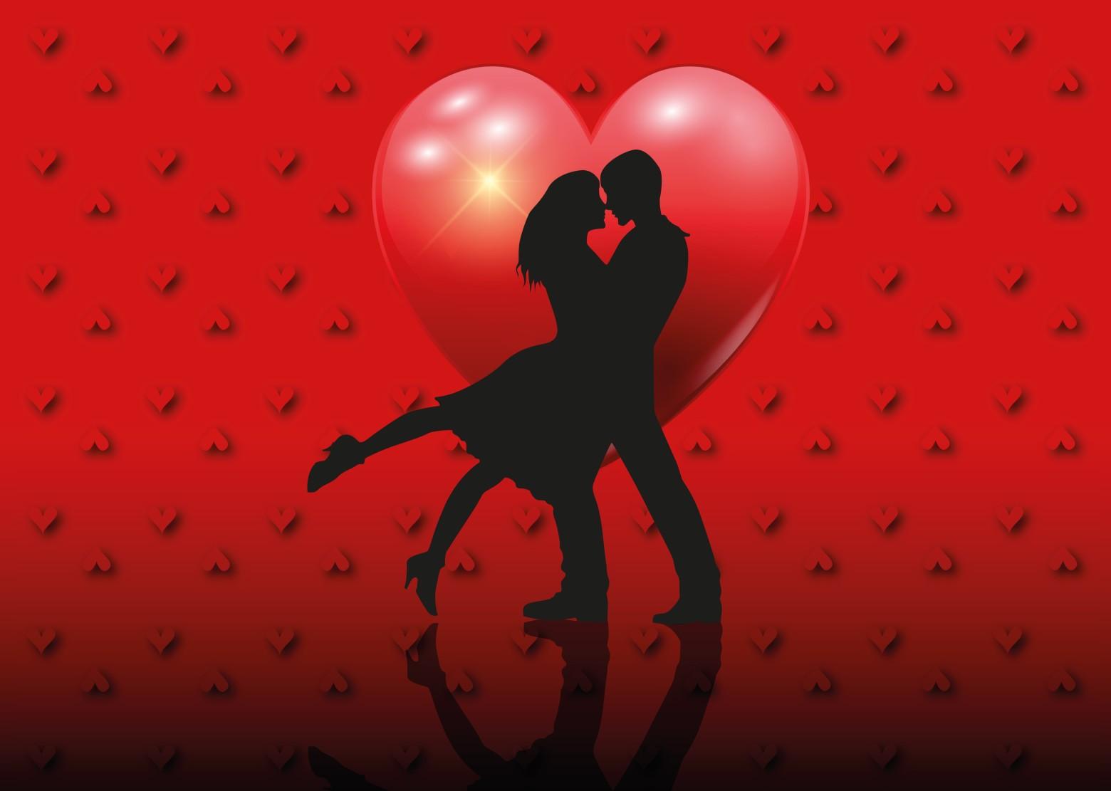 Carte saint valentin coeur amour amoureux images gratuites - Un coeur amoureux ...