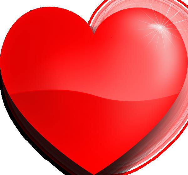 Coeur rouge cliparts images gratuites et libres de droits - Un gros coeur d amour ...