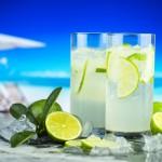 citron jus boisson plage été vacance cocktail