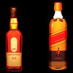 bouteilles d' alcool