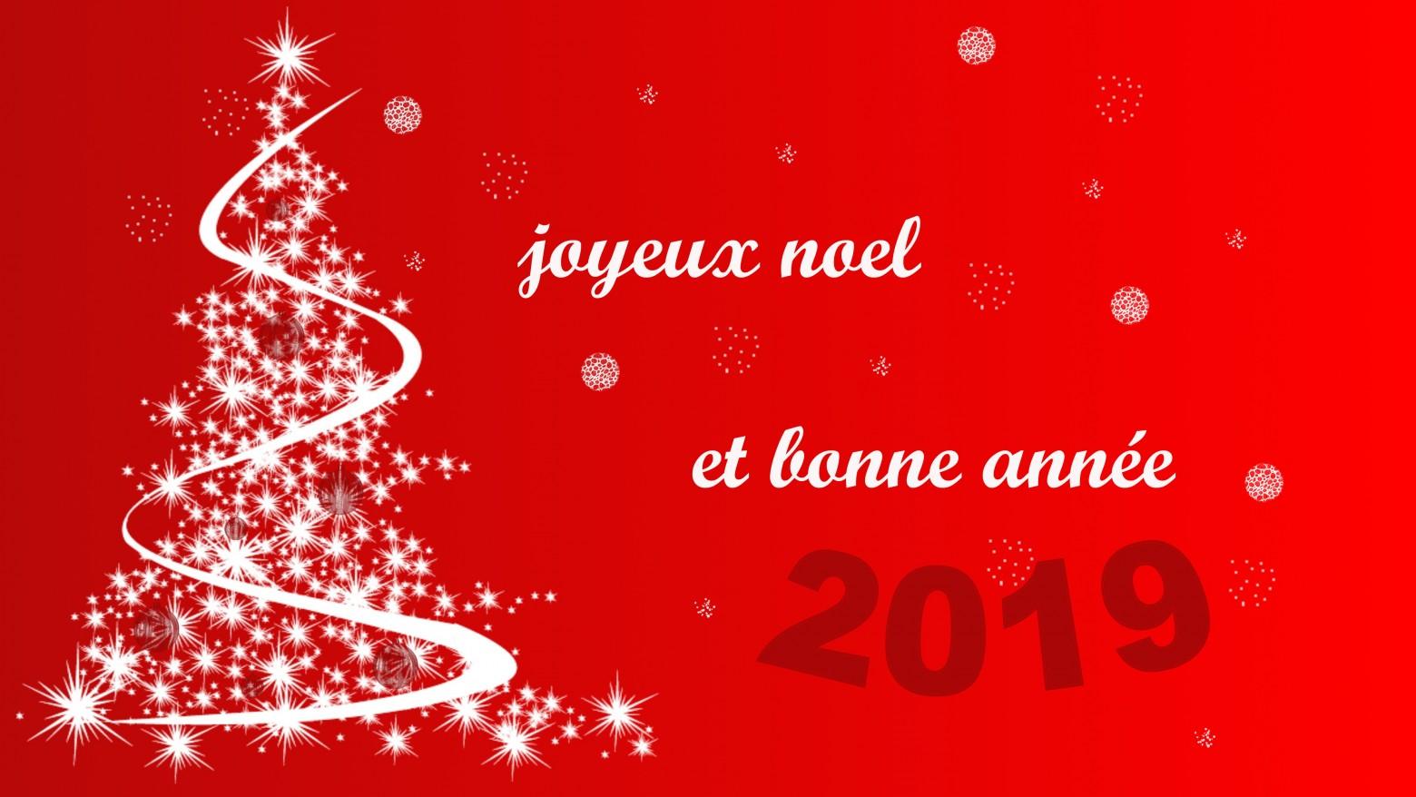 Image De Joyeux Noel 2019.Bonne Annee 2019 Images Gratuites Joyeux Noel Et Bonne