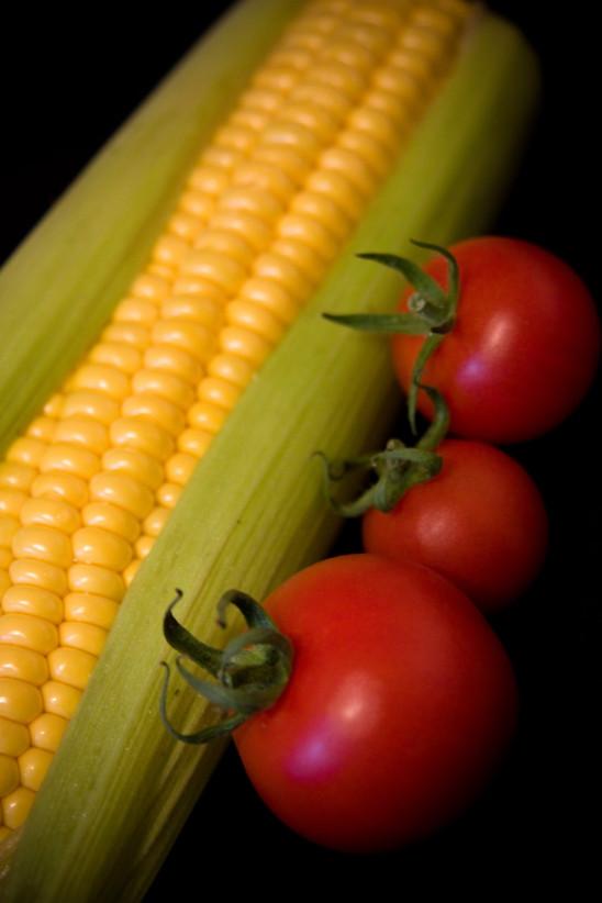 épi maïs doux et tomate
