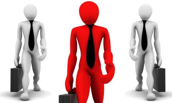 3d hommes d' affaires business