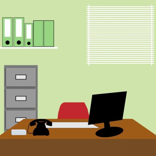 bureau ordinateur business entreprise