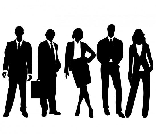 groupe de gens hommes femmes d' affaires business