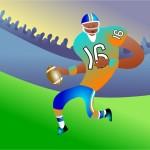 illustration ballon de football américain