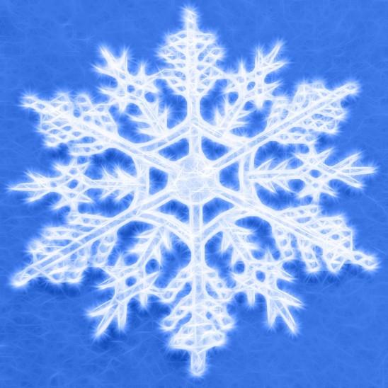 illustration flocon de neige